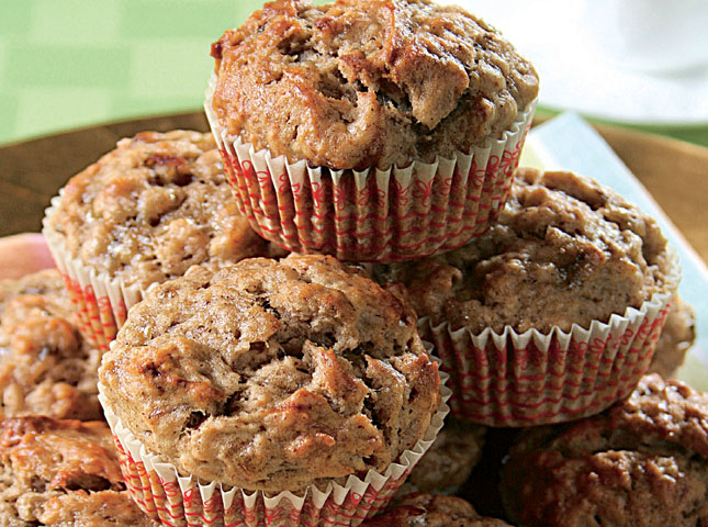 Banana Cinnamon Muffin Recipe