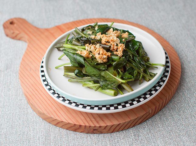 Kangkong In Oyster Sauce Recipe