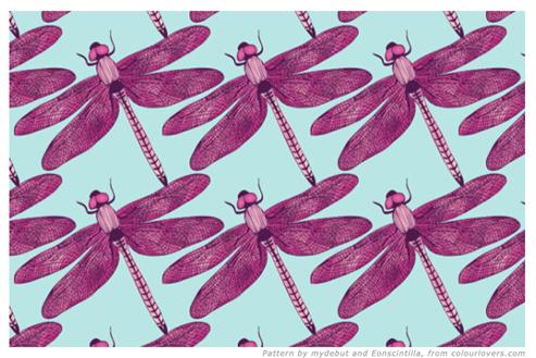 Pink-teal