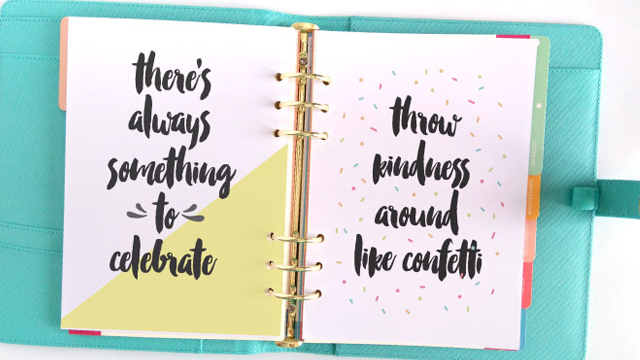 15 Ways to Personalize Your Planner