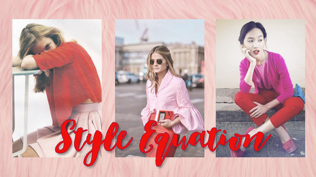 Style Equation: Pink and Red