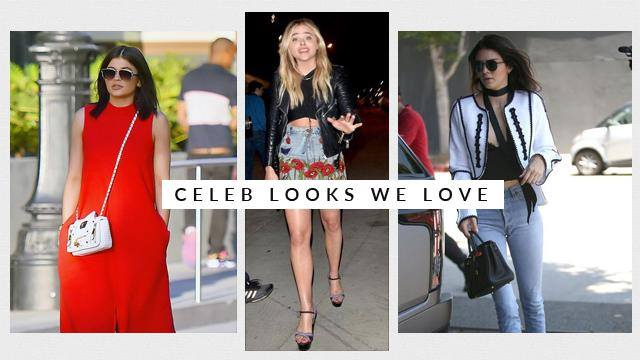 Celeb Looks We Love: Chloe Moretz, Kylie Jenner, and More