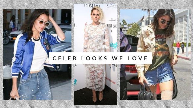 Celeb Looks We Love: Kristen Stewart, Bella Hadid, and More
