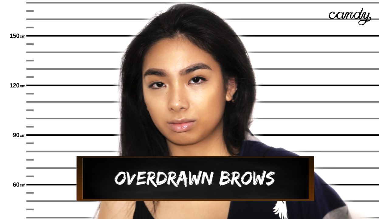 Beauty Crimes: Overdrawn Brows
