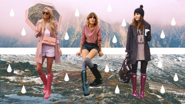 5 Ways To Wear Rain Boots