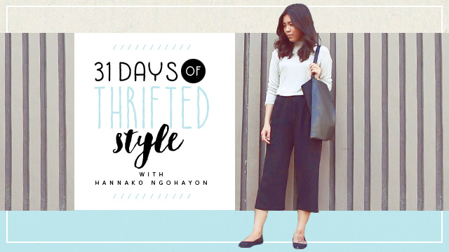 31 Days of Thrifted Style: Hannako Ngohayon