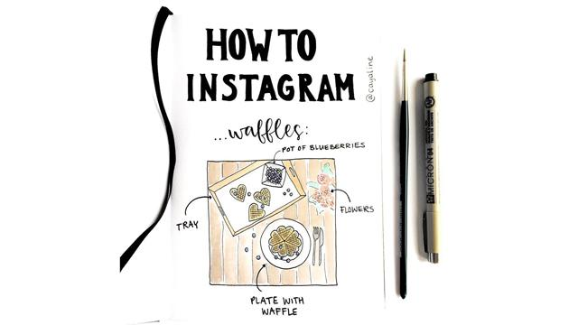 How To Instagram: An Illustrated Series