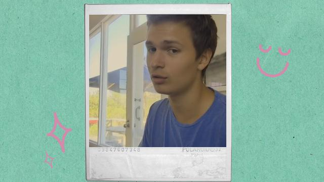 Let Ansel Elgort Serenade You with a Shawn Mendes Song