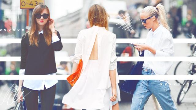 5 Ways To Style A White Button-Down Shirt