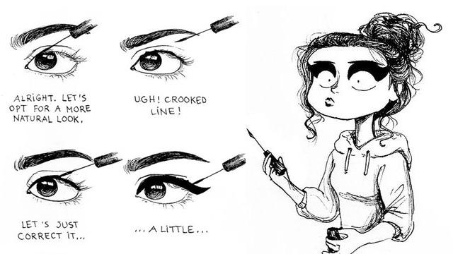15 Illustrations All Girls Can Relate To