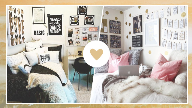 5 Gorgeous Spaces For Your Dorm Room Inspo