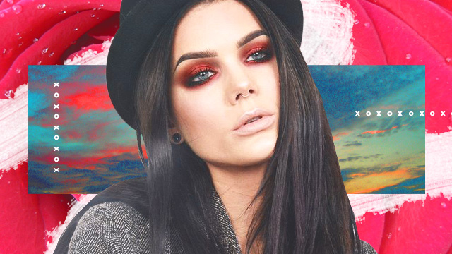 Trend To Try: Red Eye Shadow