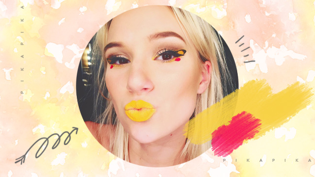 Trend To Try: Pokemon Makeup
