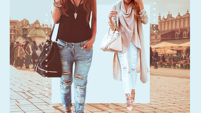 How To Make Your Distressed Jeans Look Sophisticated