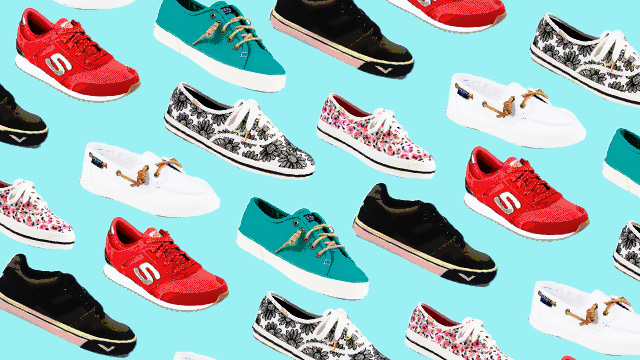 6 Sneakers To Wear When You're Bored With The White Sneaker Trend