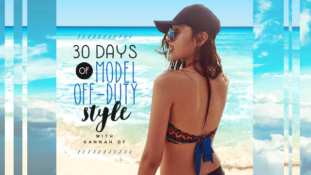 30 Days Of Model Off-Duty Style: Hannah Dy
