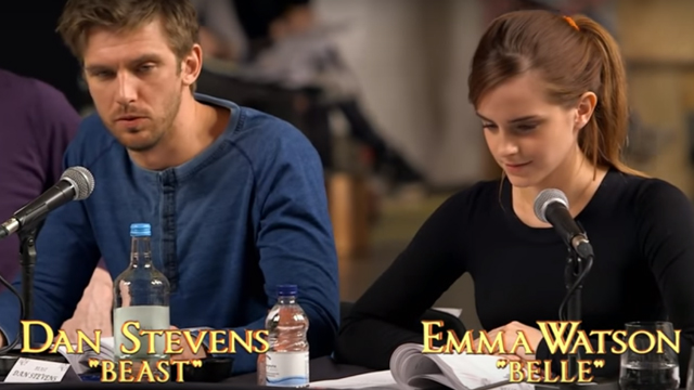 You Have to See This Video of Emma Watson Reading Her Lines as Belle