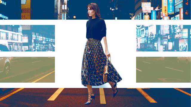 5 Ways To Wear A Statement Skirt