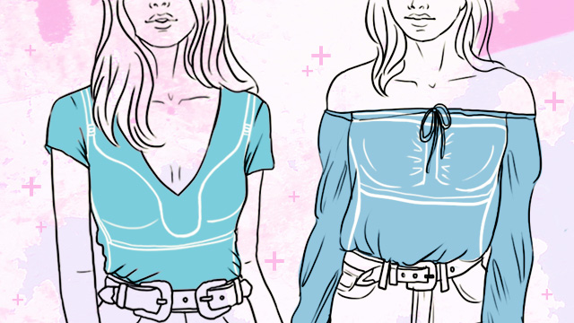 Your Ultimate Cheat Sheet To Choosing What Type Of Bra To Go With That Top