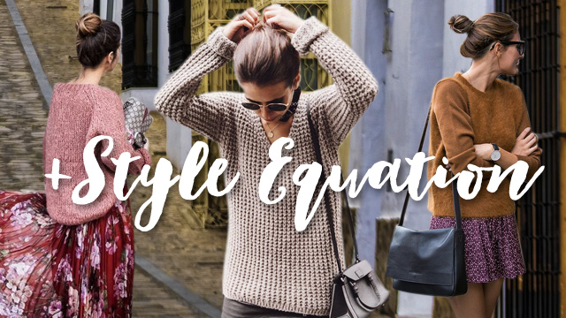 Style Equation: Sweater And Skirt