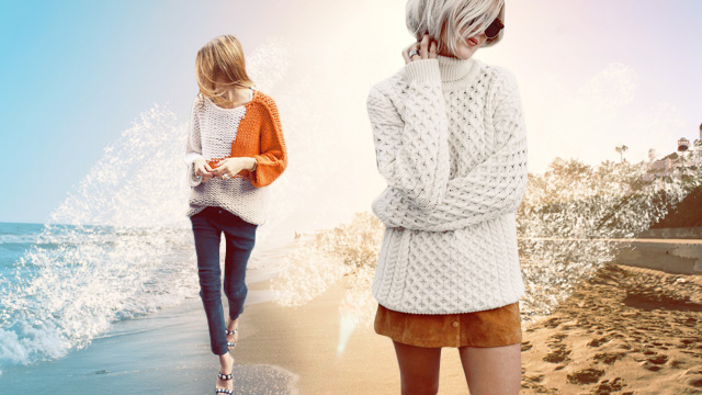 5 Ways To Wear Knits In A Tropical Country