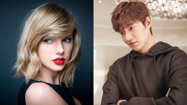 Here's the Truth About Those Taylor Swift and Lee Min Ho Dating Rumors