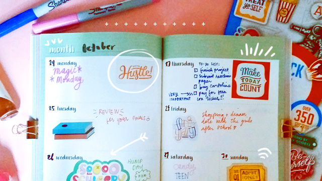 5 Ways to Make Your Planner Spreads Look Good