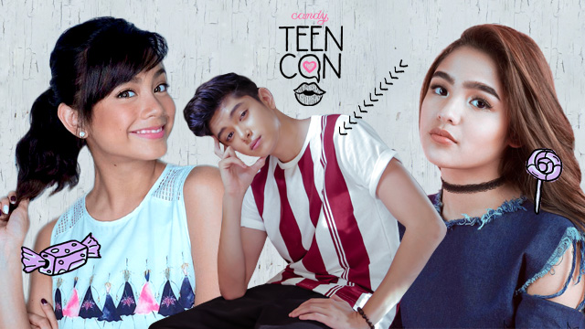 Catch Ylona Garcia, Andrea Brillantes, Jack Reid, and More at #CandyTeenCon2016