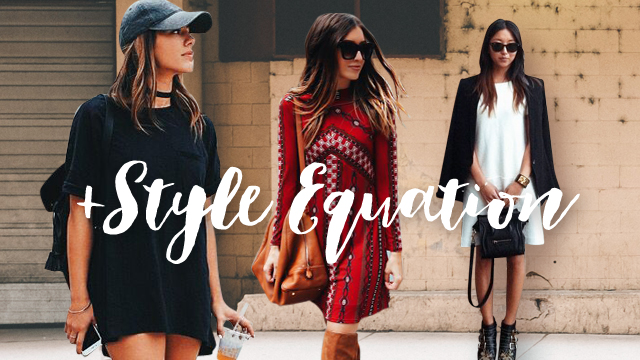 Style Equation: Mini Dress And Boots