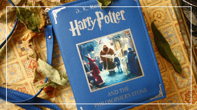 These Harry Potter Book Bags Make Perfect Christmas Presents