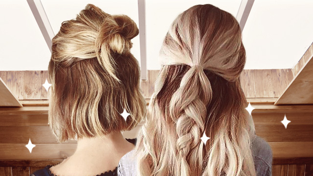 5-Minute Hairstyles You Can Put Together When You're Running Late