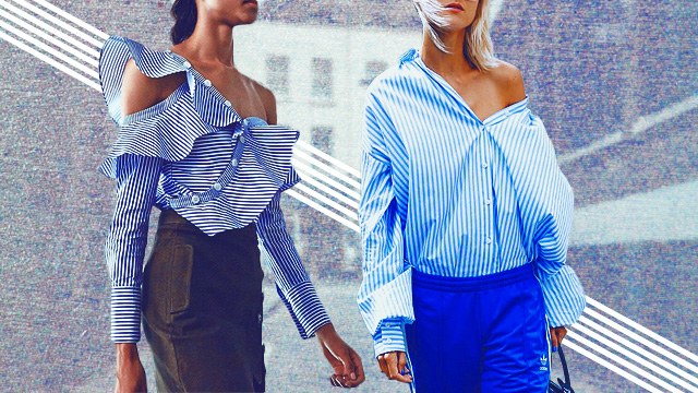 Here's How to Update Your Favorite Off-Shoulder Look