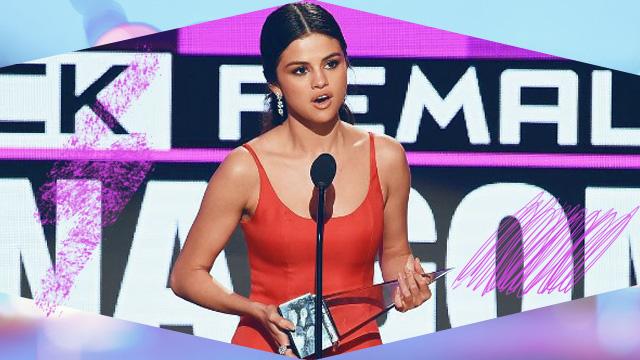 Three Things We Learned from Selena Gomez's Heartfelt AMA Speech