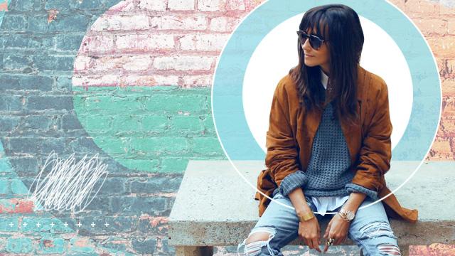 5 Ways To Wear Your Boyfriend's Jacket