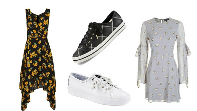 10 Dress and Sneakers Pairings You Can Rock for the Holidays