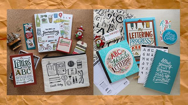 Christmas Gift Idea: Lettering Gift Sets by Abbey Sy