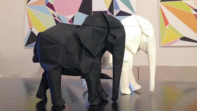 This Guy Upped His Origami Game to the Next Level