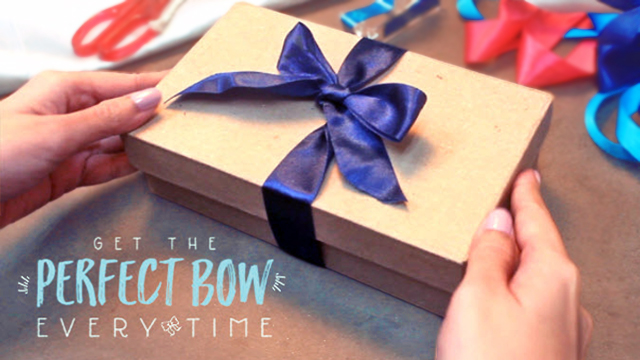 Here's How You Get the Perfect Bow Every Time