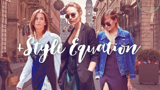 Style Equation: Slip Dress and Slides