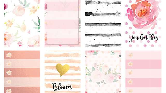 We Found the Prettiest Stickers for Your Planners!