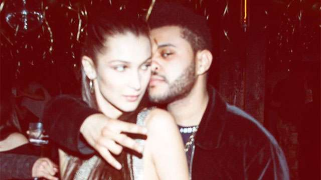 So Awkward! The Weeknd and Bella Hadid Bumped Into Each Other