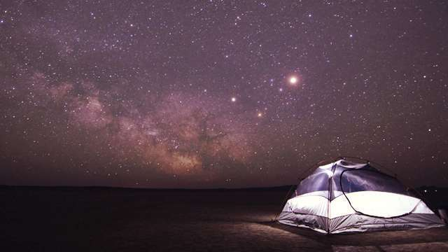 Constantly Can't Sleep at Night? Study Says You Should Camp Out