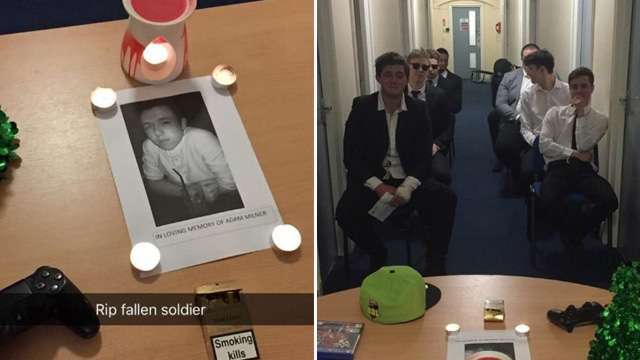 These Guys Held a Fake Funeral for a Friend Who Kept Spending Time with GF