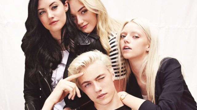 Here's Why We Are So Obsessed with Lucky Blue Smith's Band