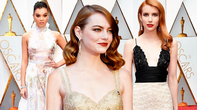 6 Dreamy White And Shimmering Debut Dress Ideas You Can Steal From The 2017 Oscars