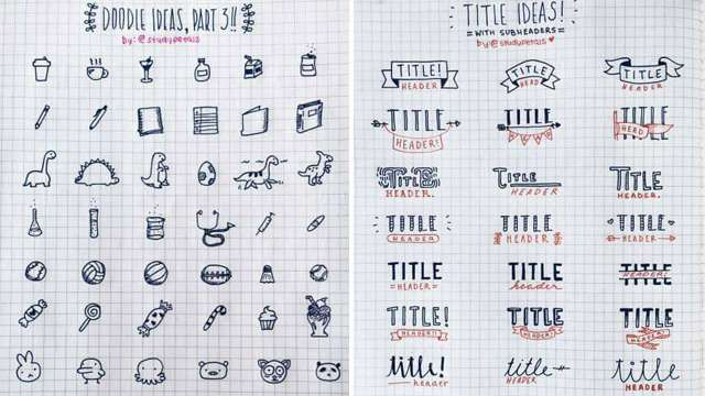 Make Your Own Journal Banners, Frames, and Fonts with This Guide