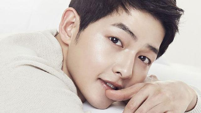 We Finally Know the Secret Behind Song Joong Ki's Flawless Face