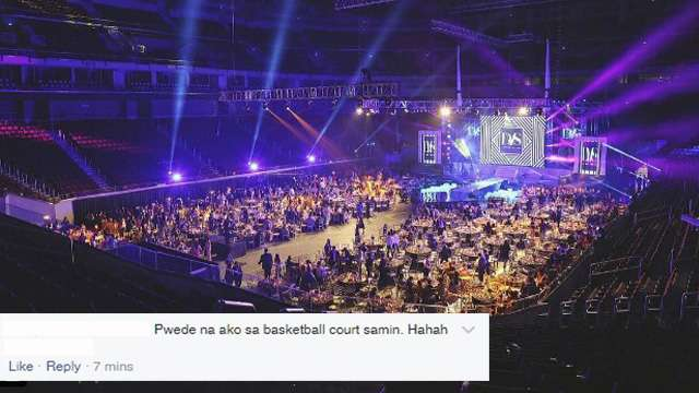 10 of the Funniest Comments About the Debut at the MOA Arena