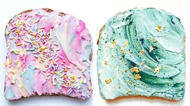 Here's How You Can Make Mermaid, Unicorn, and Other Extra Toasts