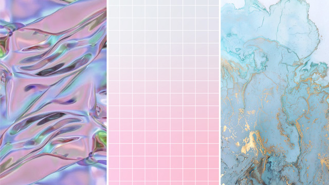 Grids, Crystals, Holograms, and More Cool Wallpapers for Your Mobile Phone